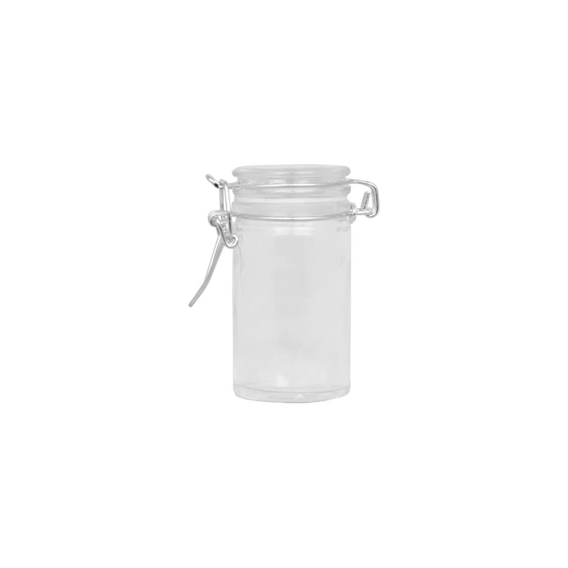 Glass Jar w. Locking Lid