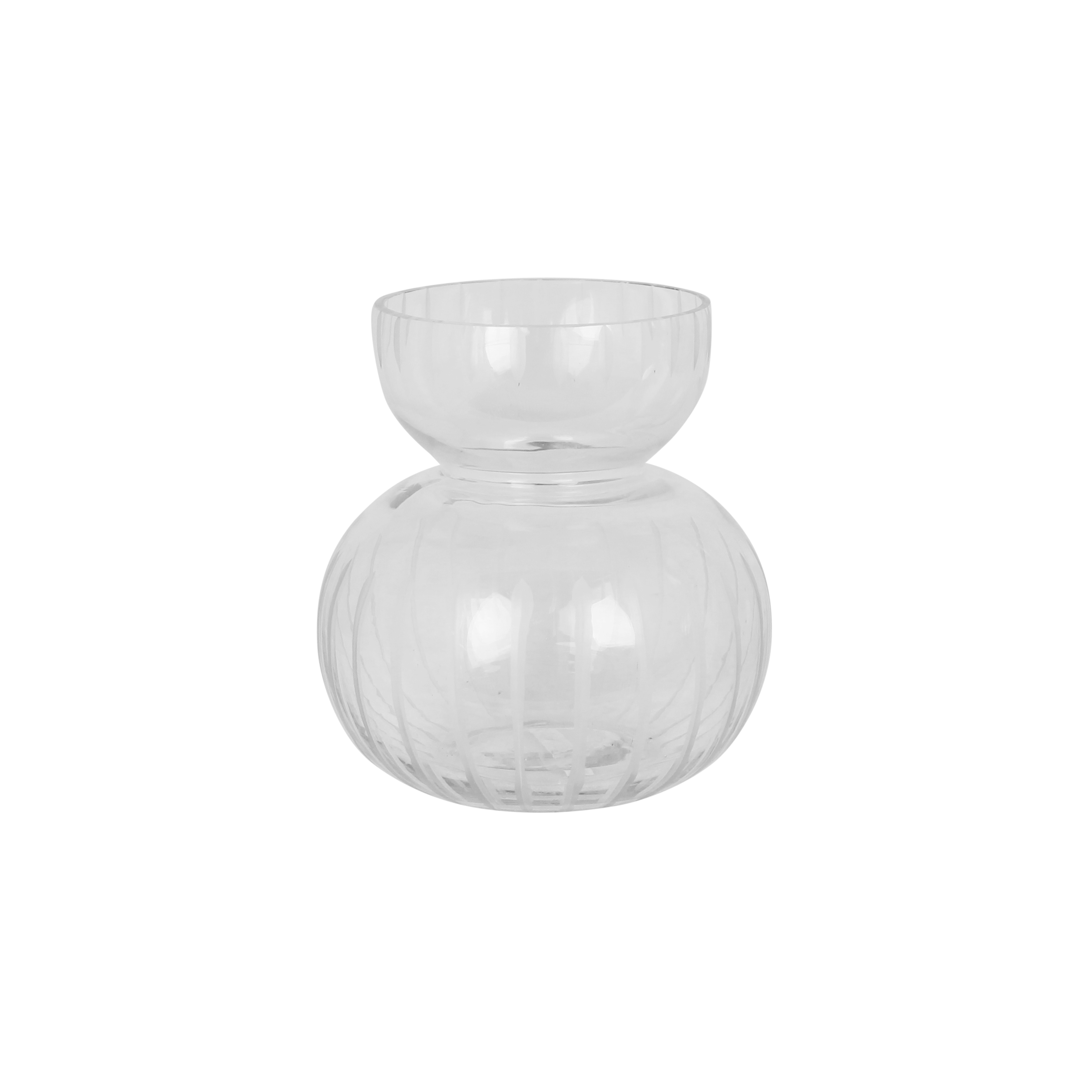 Vase Round Stripe Small
