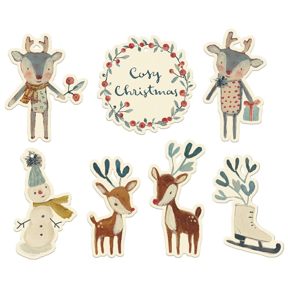 Cosy Christmas Juletiketter