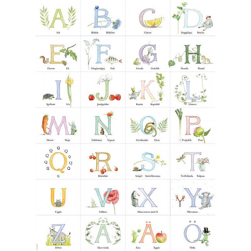 Poster Majas ABC