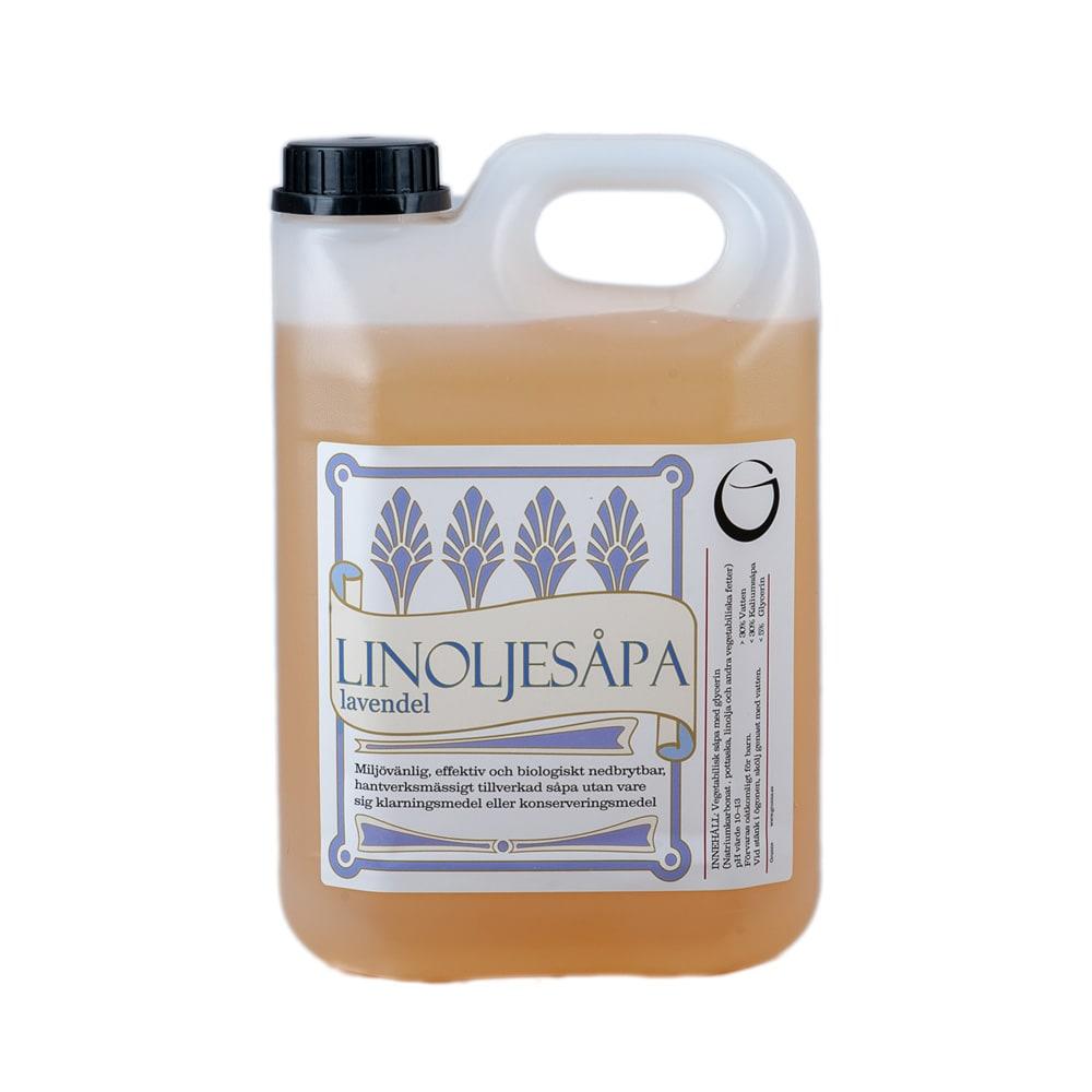 Linoljesåpa Lavendel 2,5 L