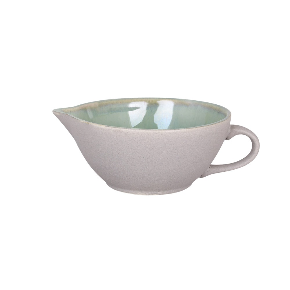 Bowl w. Spout and Handle Einar Green Small