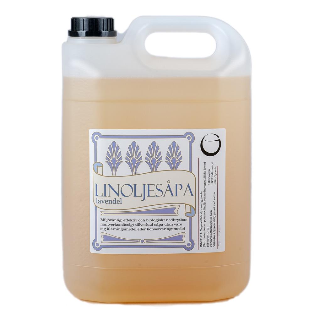 Linoljesåpa Lavendel 5 L