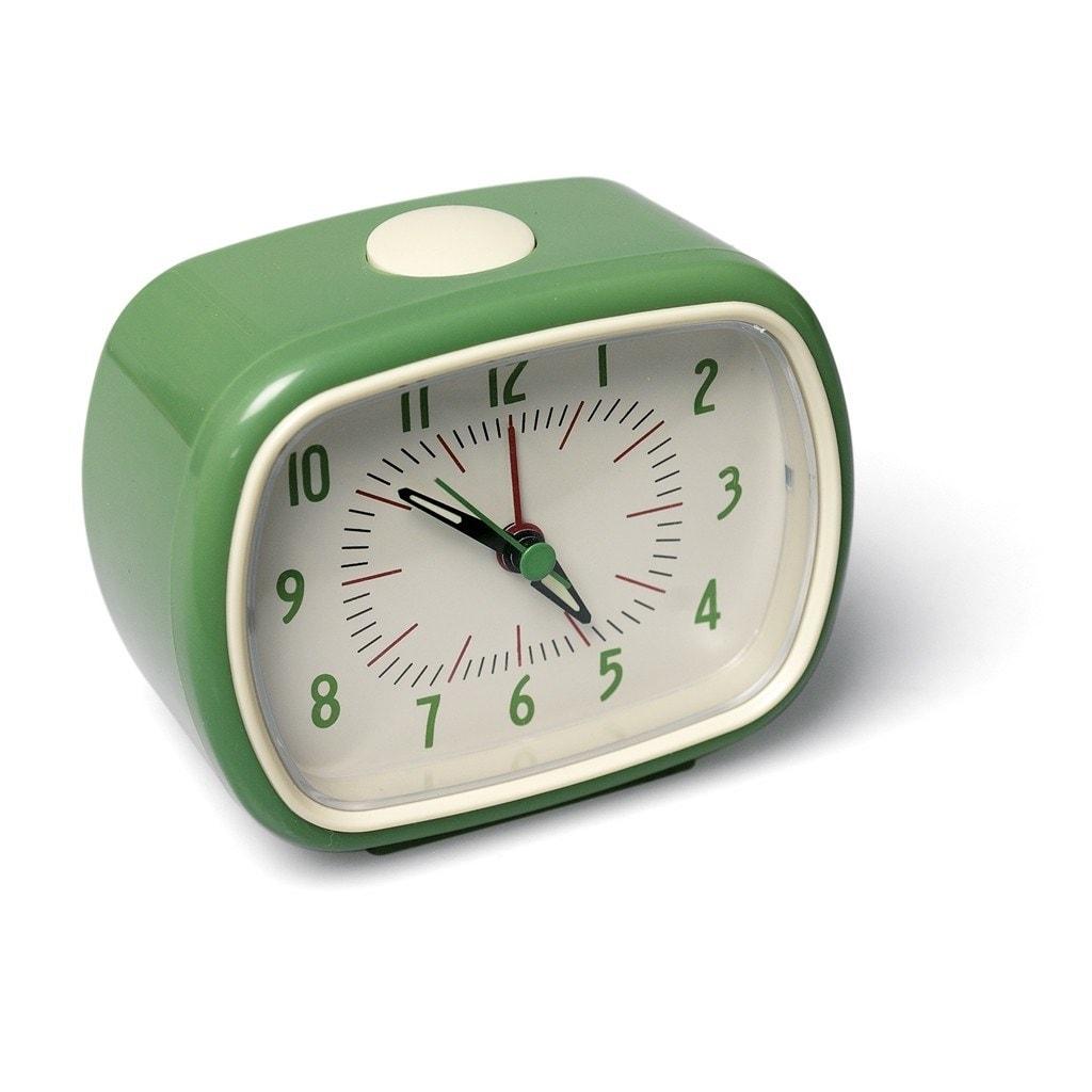 Väckarklocka Retro Grön