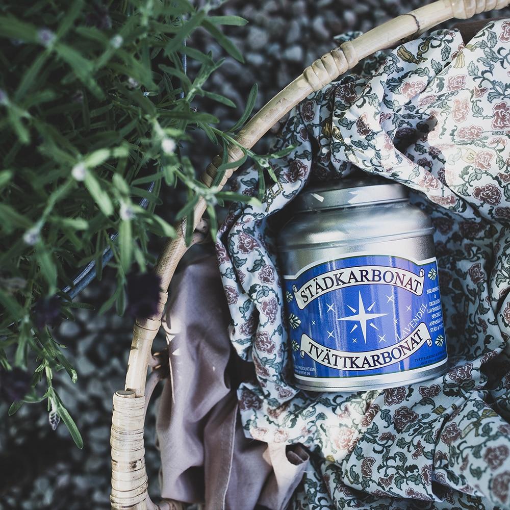 Städ & Tvättkarbonat Lavendel