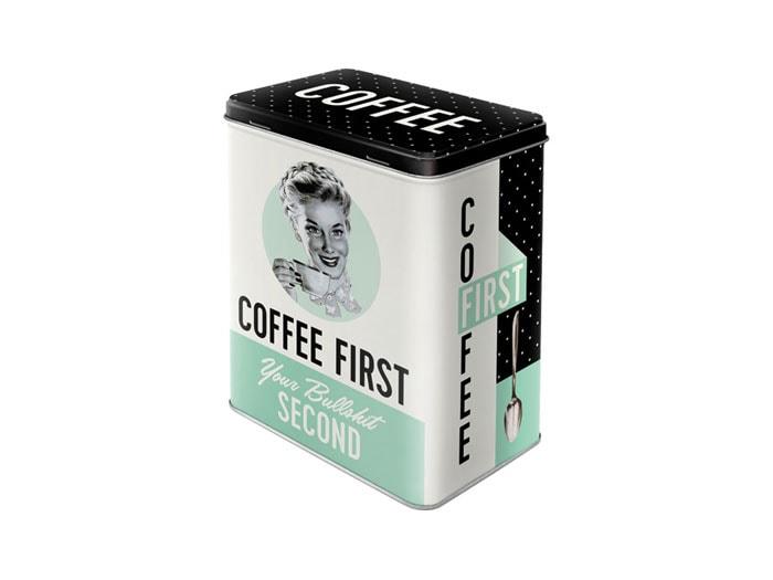 Plåtburk Coffee First