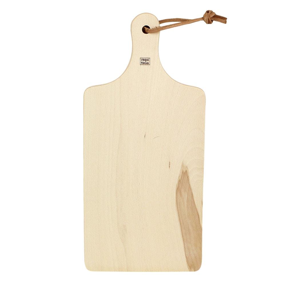 Cutting Board w. Leather Strap Medium