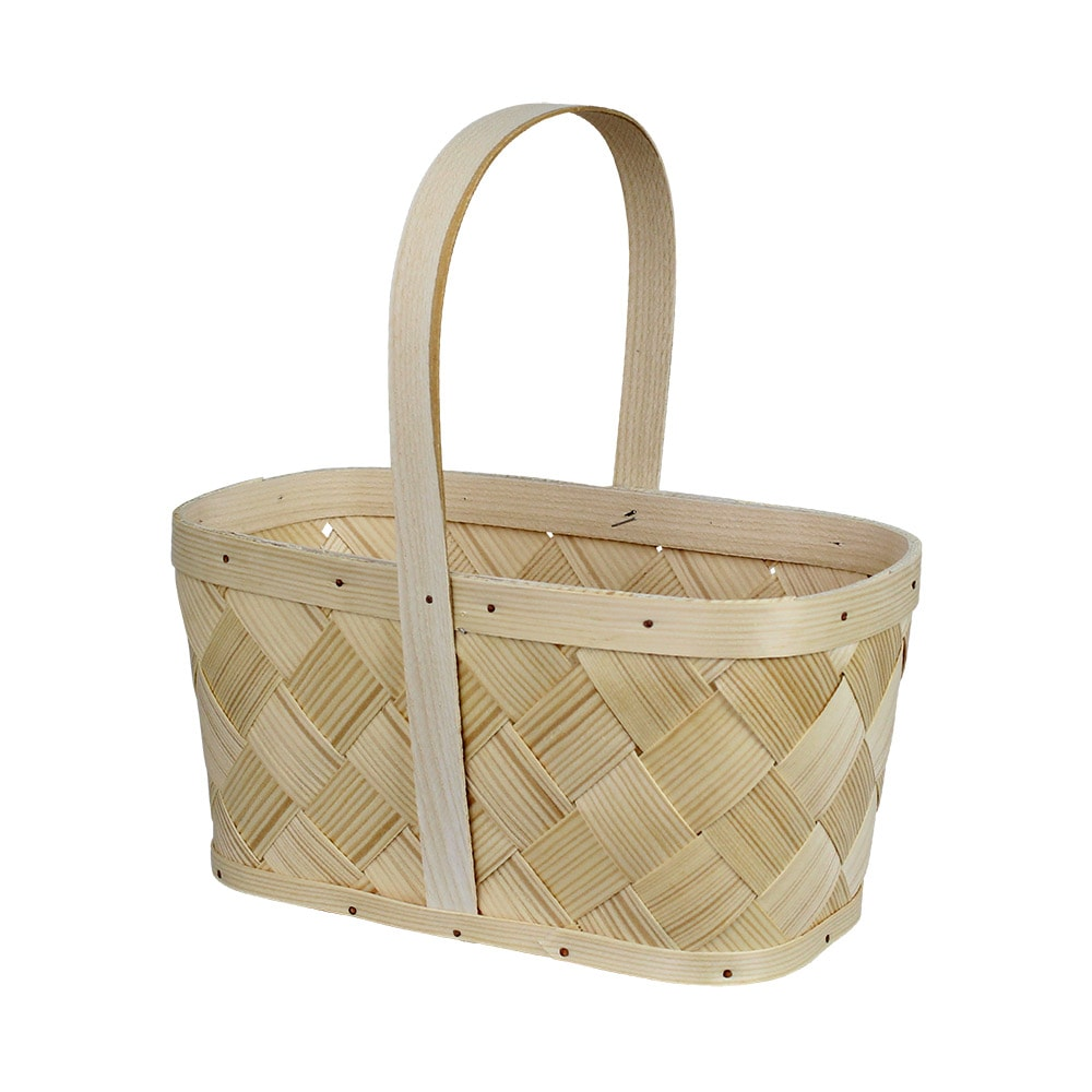 Wood Basket Anna Small