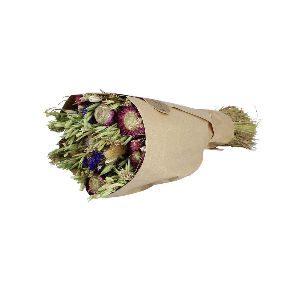 Dried Flower Bouquet Purple
