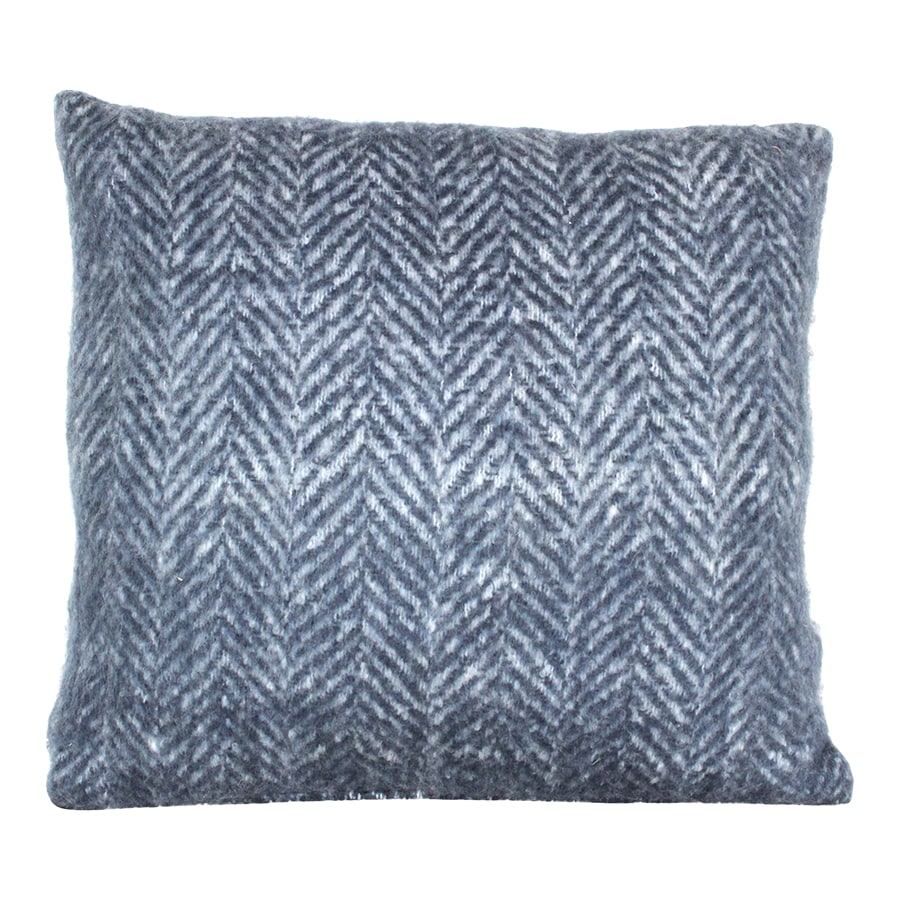 Cushion Cover Wool Blue