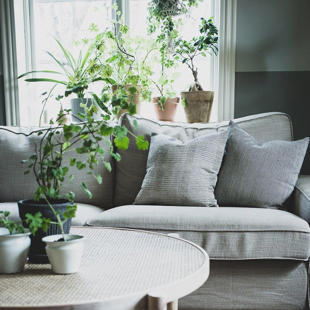 Cushion Cover Fylke Black