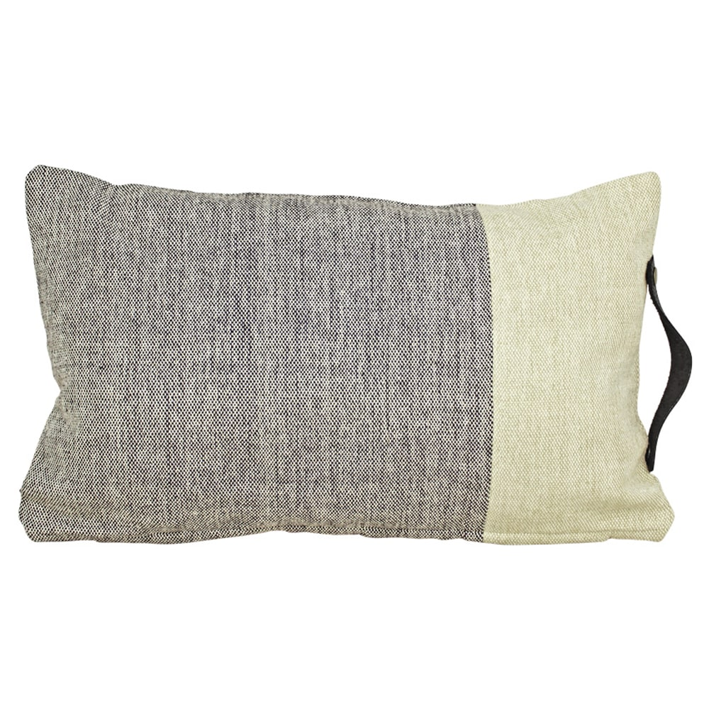 Cushion Cover Siri Black/Beige