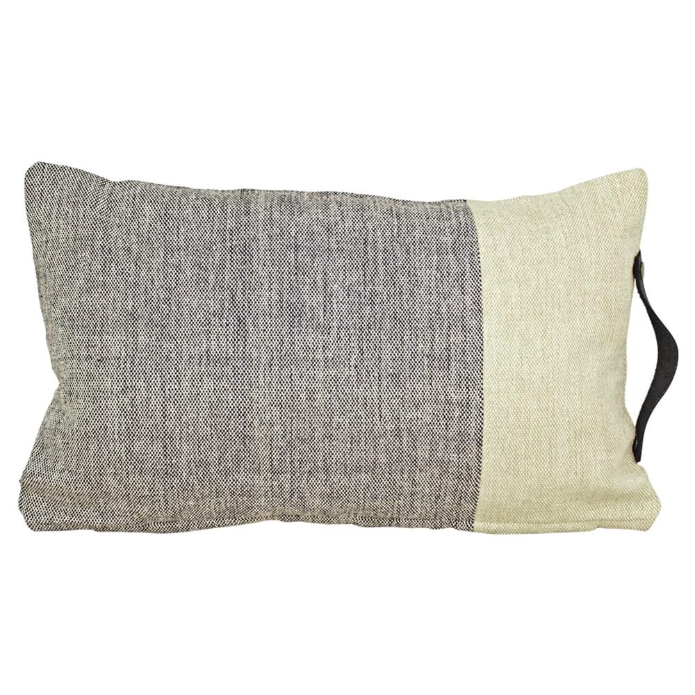 Cushion Cover Siri Black/Beige