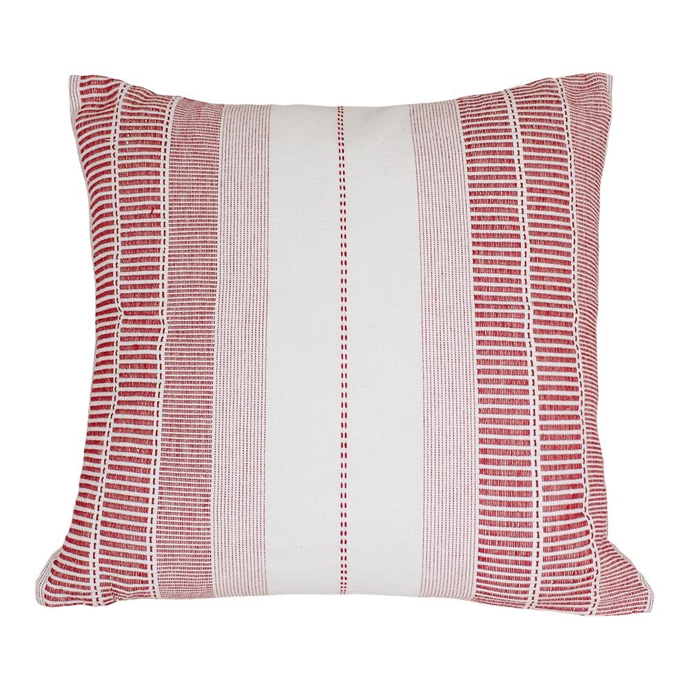 Cushion Cover Marianne Red/White
