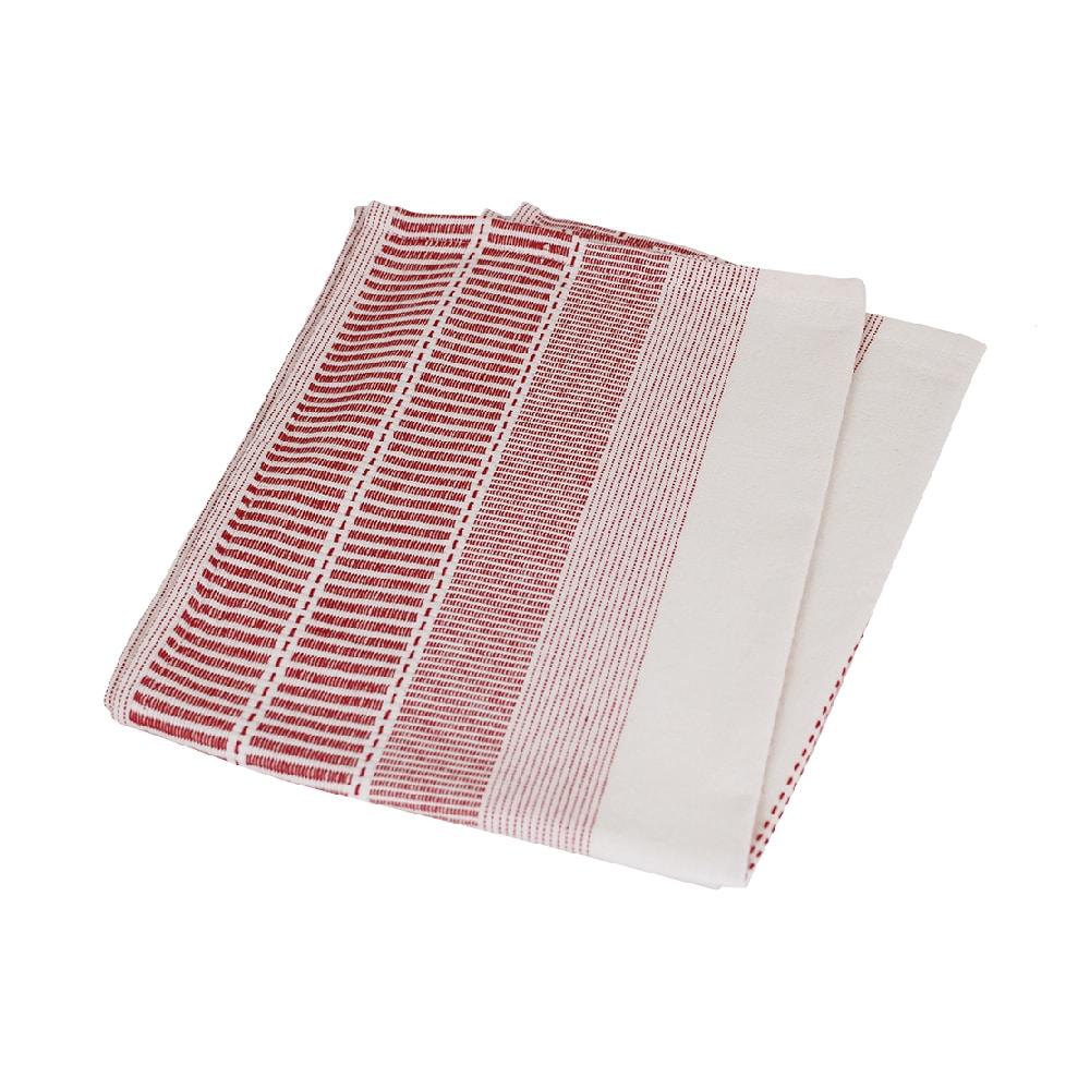 Tea towel Marianne Red/White