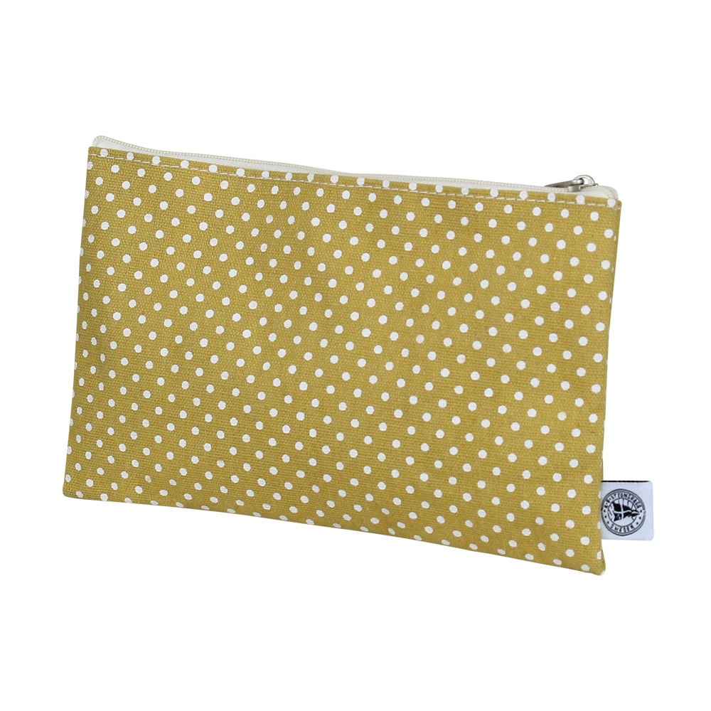 Purse Dot Yellow Medium