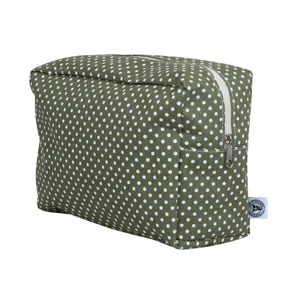 Toilet Bag Dot Green