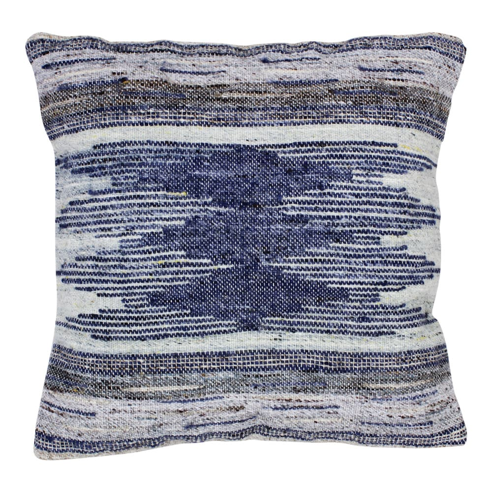 Cushion Cover Noel Blue/Natural