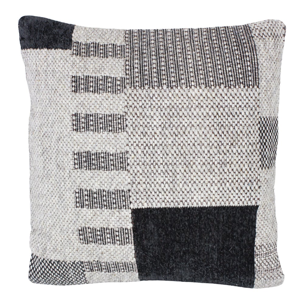Cushion Cover Noel Black/Natural