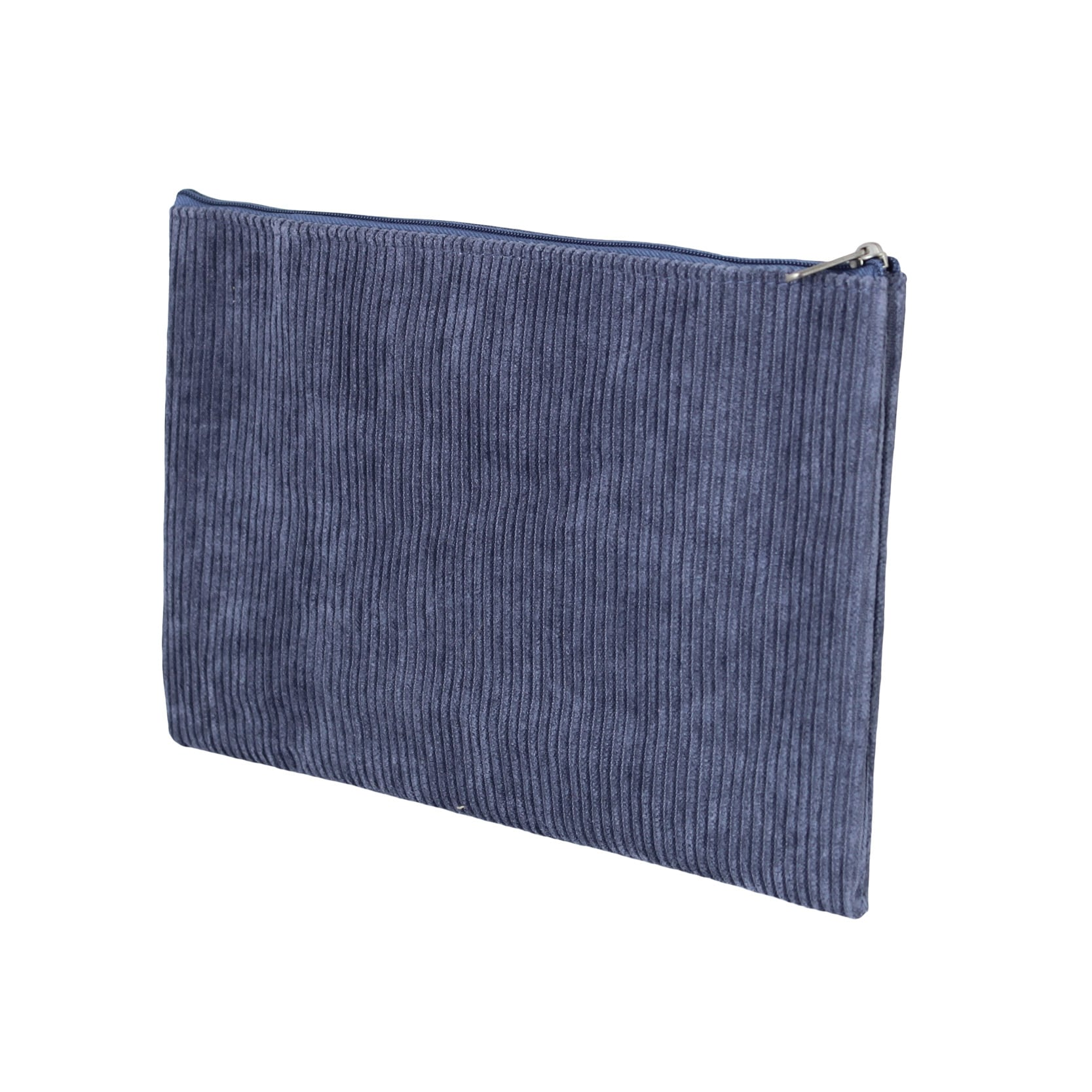 Toilet Bag Corduroy Blue