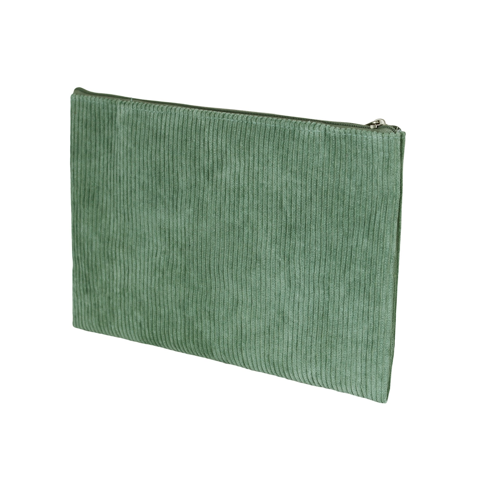 Toilet Bag Corduroy Green