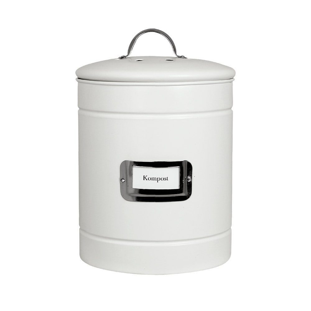 Tin Hilma Compost White/Nickel