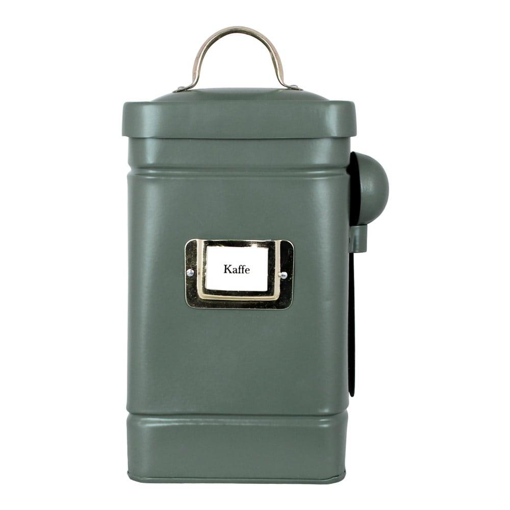 Tin Hilma Coffee Green/Brass