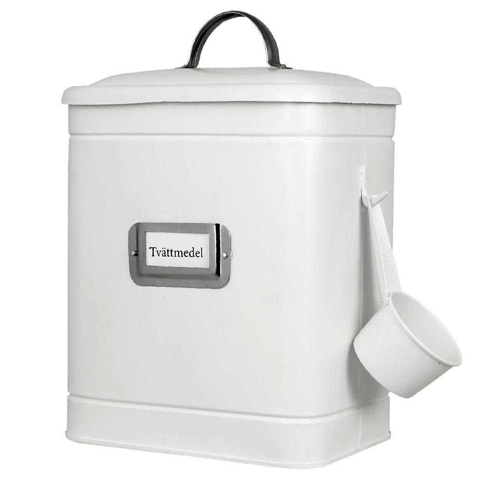 Tin Hilma Washing Powder White/Nickel