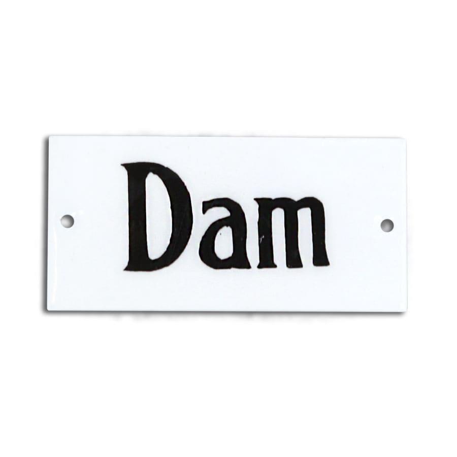 Sign Dam