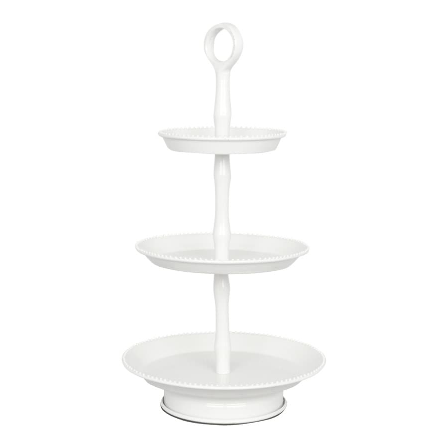 3 Tier Cake Stand White