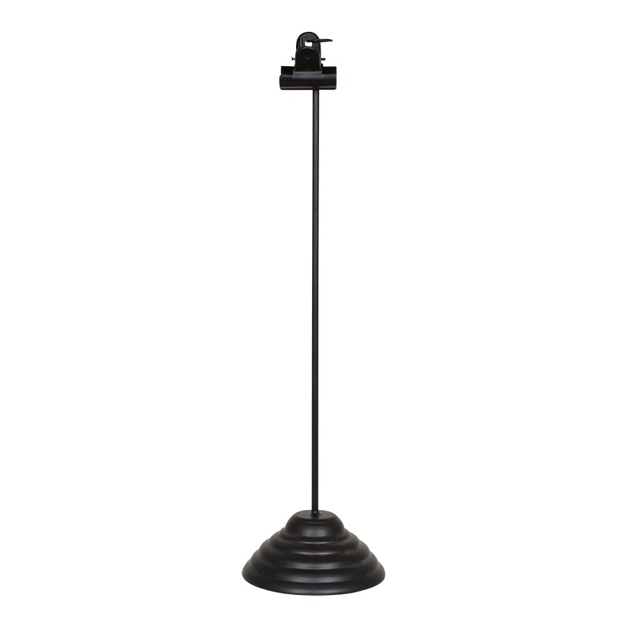 Clip On Stand Black