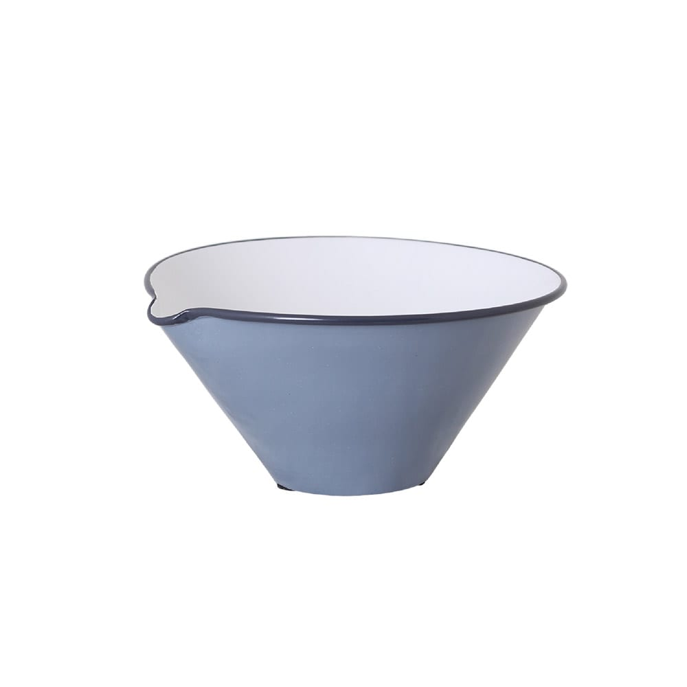 Bowl w. Lip Olle Blue Small