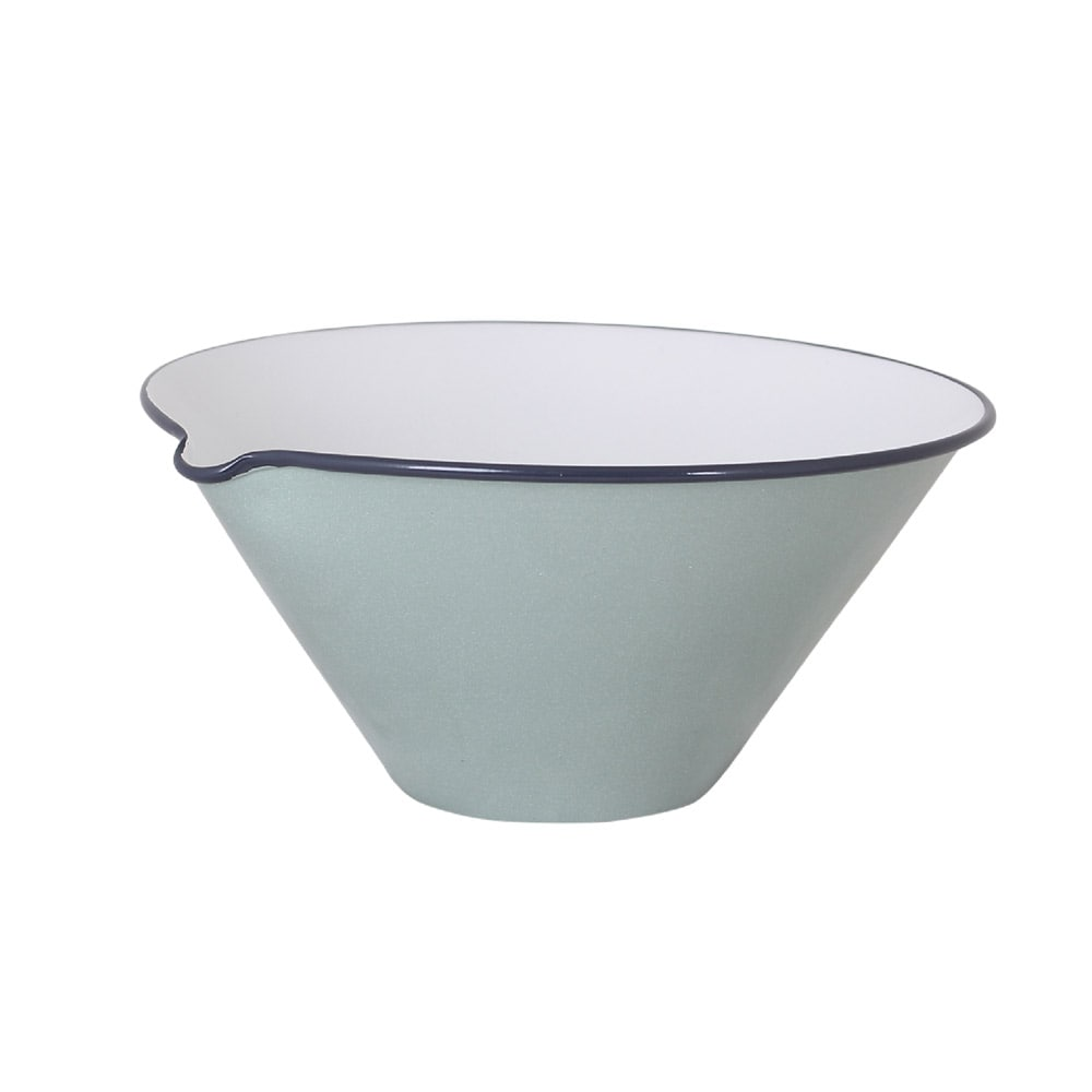 Bowl w. Lip Olle Light Green Large