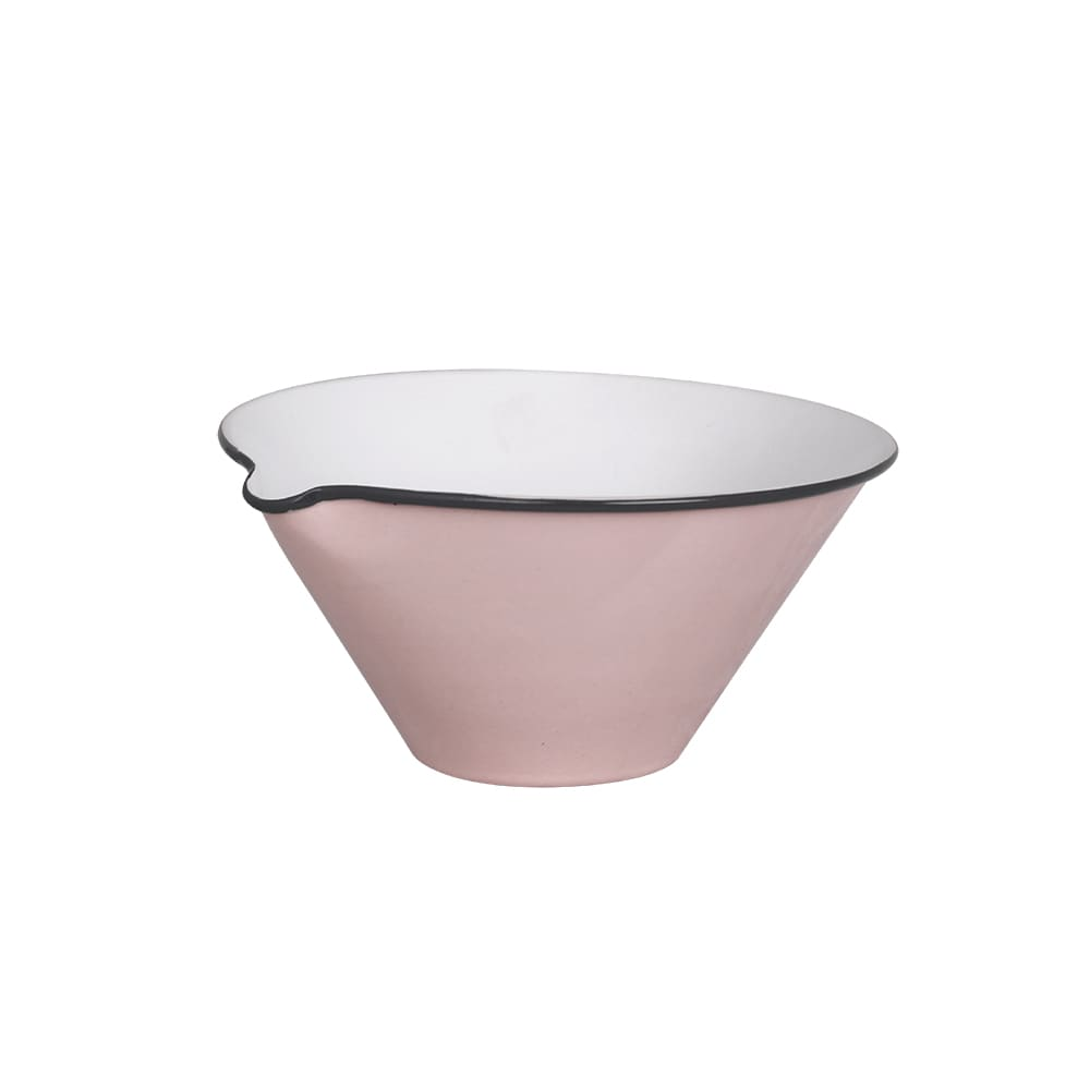 Bowl w. Lip Olle Pink Small