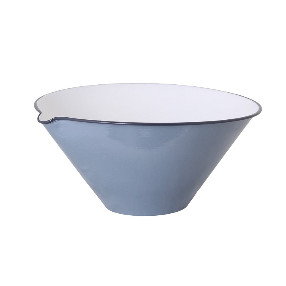 Bowl w. Lip Olle Blue Large