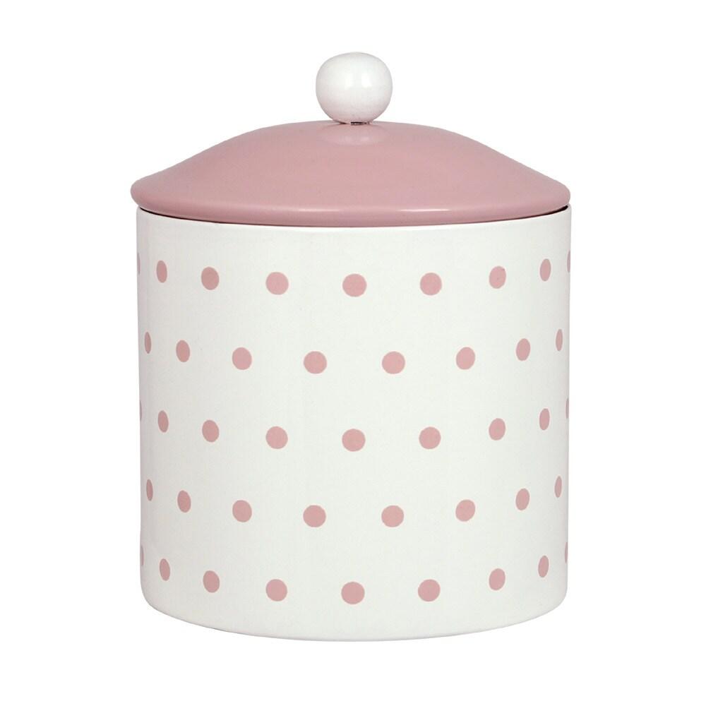 Tin Gladys Dot Pink