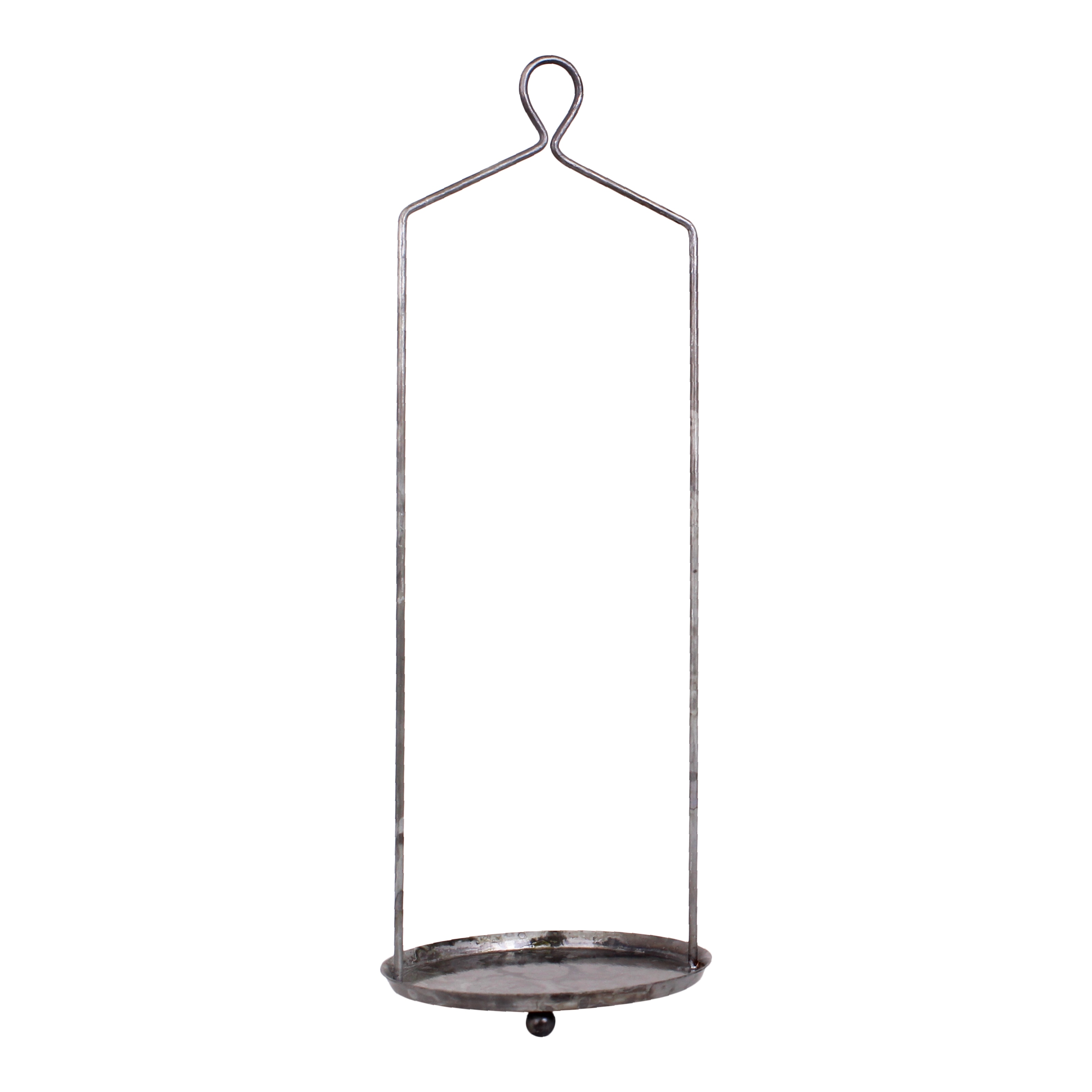 Hanging Stand for Pot Antique Zinc High