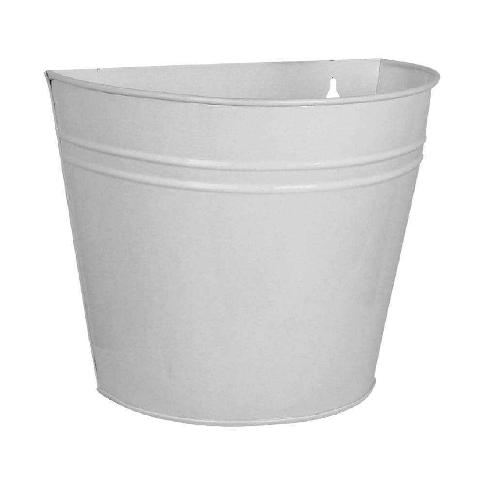 Wall Pot Antique White Large