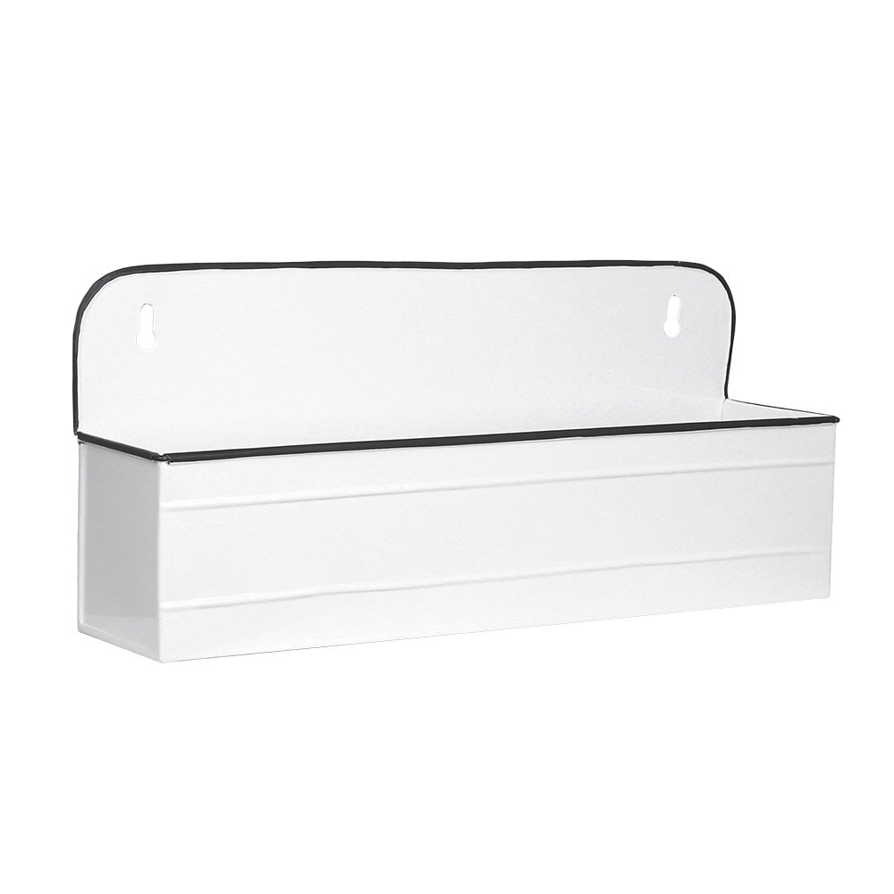 Wall Planter Olle White Wide