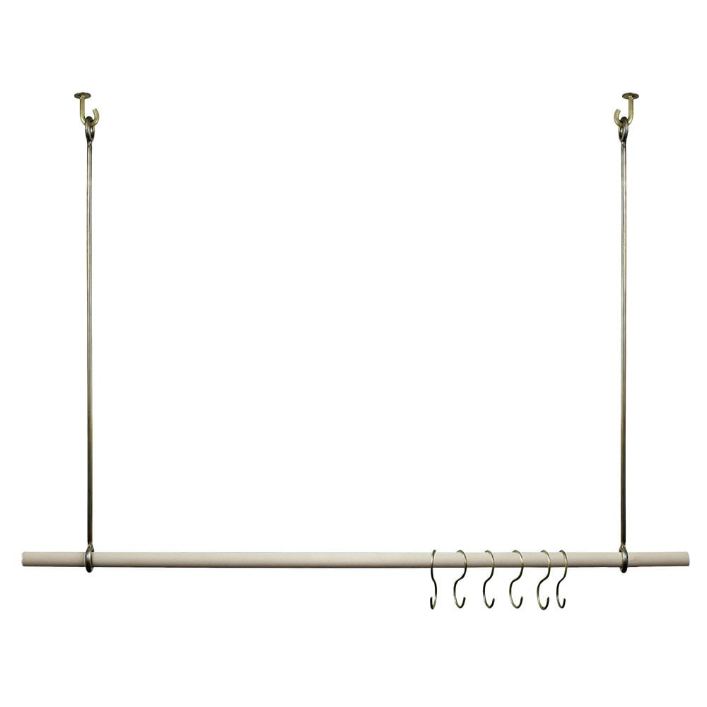 Coat Rack Algoth Antique Brass