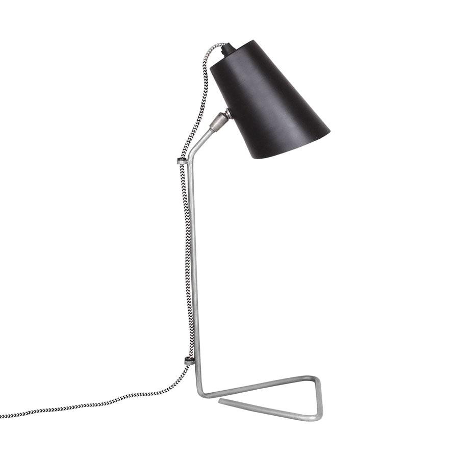 Table Lamp Harald Black/Zink