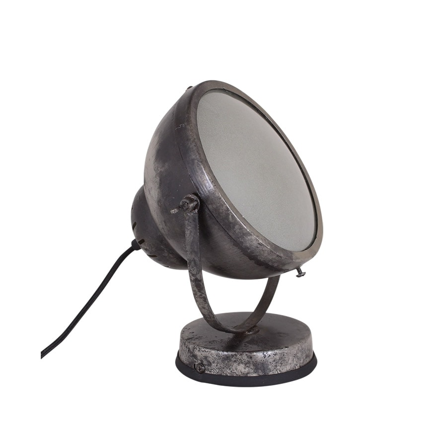 Wall/Table Lamp Spot Antique Silver