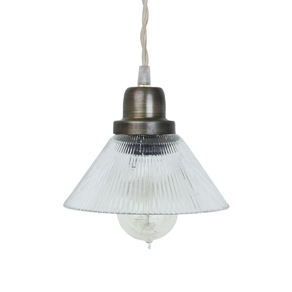 Pendant Lamp Gunilla Small Clear/Antique Brass