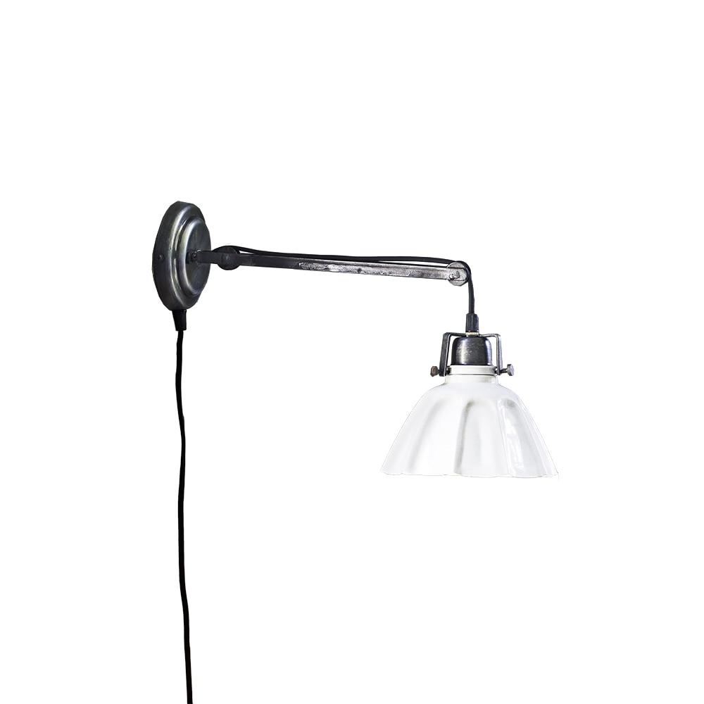 Wall Lamp Margareta Antique White/Graphite