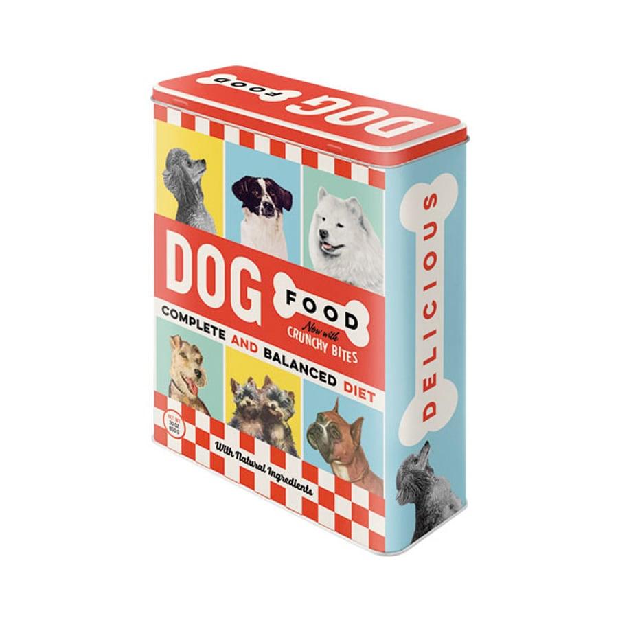 Plåtburk Dog Food Hög