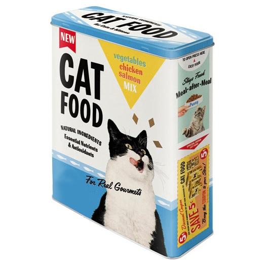 Plåtburk Cat Food Hög