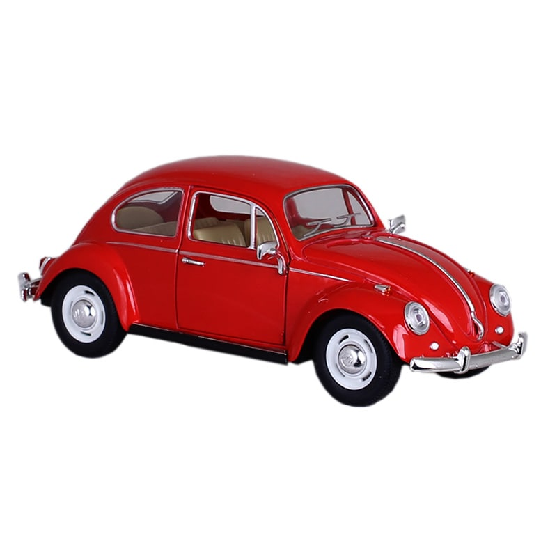 Modellbil VW Beetle 1967 Röd