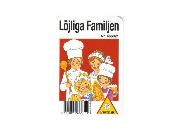 Kortspel Löjliga Familjen