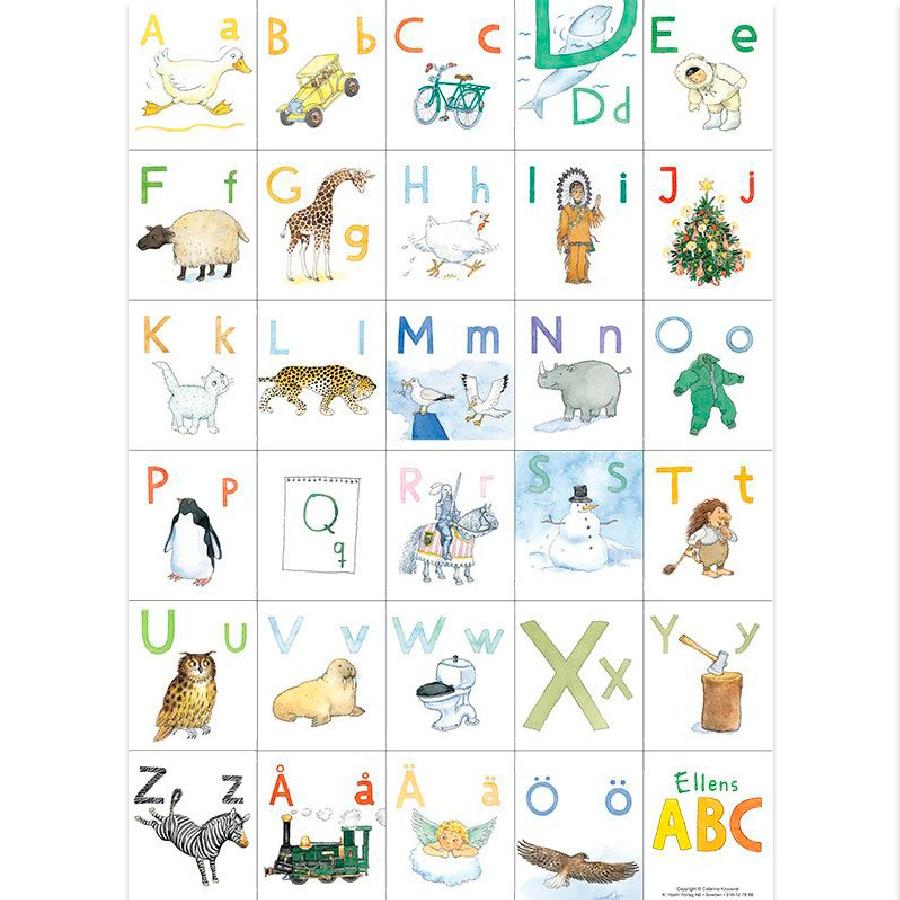 Poster Ellens ABC
