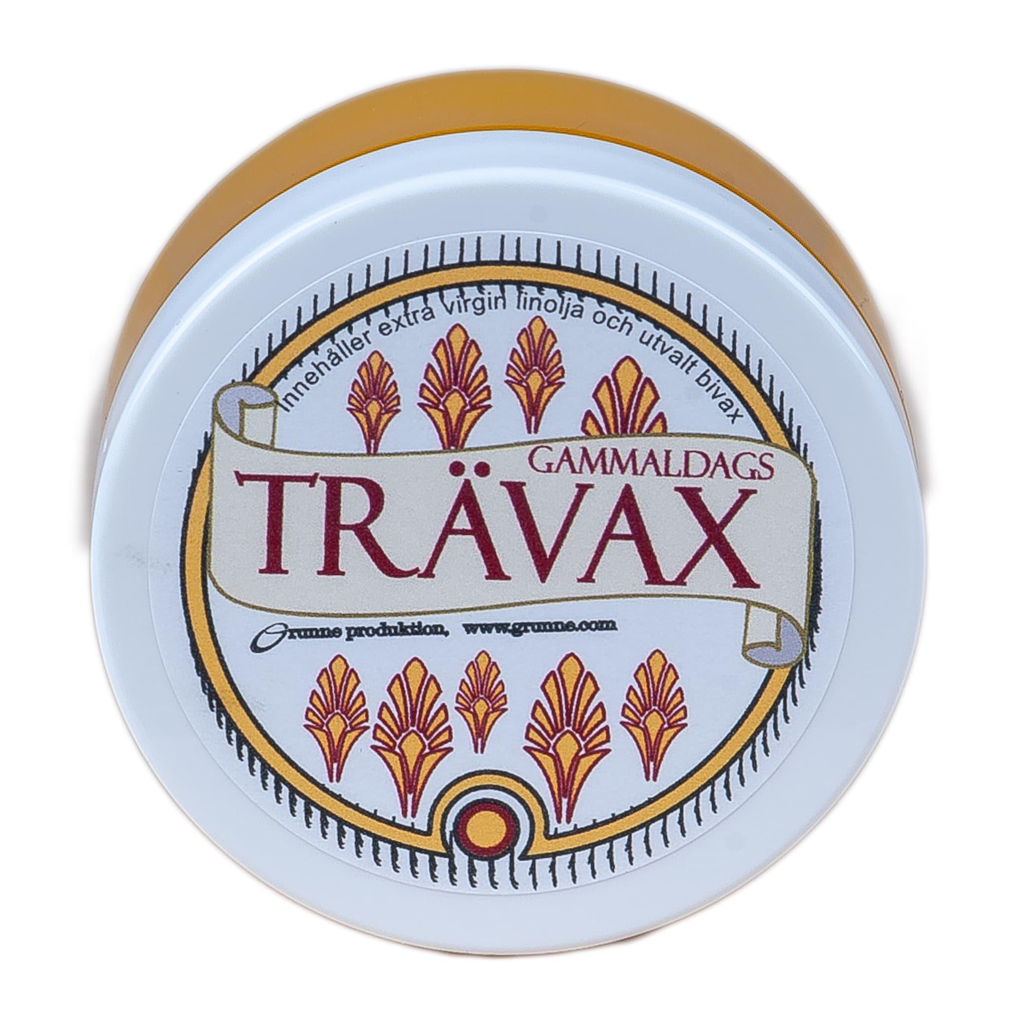 Trävax Stor